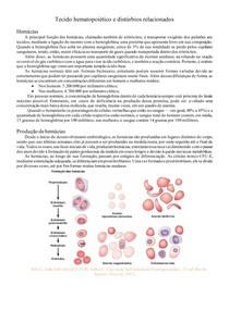 Tecido hematopoiético e distúrbios relacionados