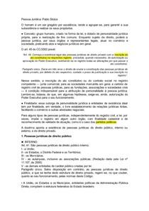 Pessoa Jurídica Pública - Pablo Stolze