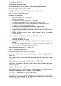 FISIOLOGIA resumo II