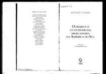 O Diabo e o Fetichismo da Mercadoria Na América Do Sul   Michael T. Taussig