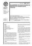 NBR 14273   1999   Acessibilidade a Pessoa Portadora de Deficiência   Transporte Aéreo Comercial