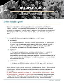 HISTOPATOLOGIA - Nanismo Acondroplasico
