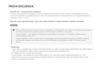 PROVA DISCURSIVA COMPOSTO MERCADOLOGICO
