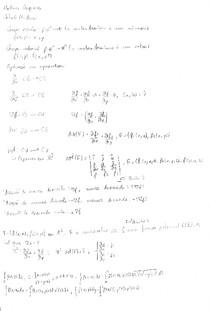 Cálculo IV UNIFACS - Revisão 2016.2
