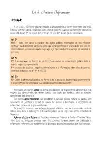 11 - Lei de Acesso à Informação
