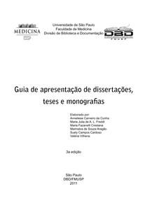 GUIA DE TESES DA USP