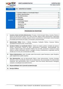 Lidiane Coutinho - Direito Administrativo - Apostila (2012)