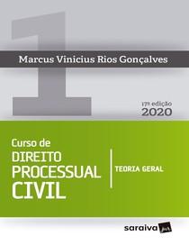 Curso de Direito Processual Civil 1 - Marcus Vinicius Rios Gonc¸alves - 2020 pdf