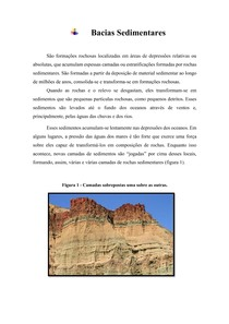 Geomorfologia - Bacias Sedimentares