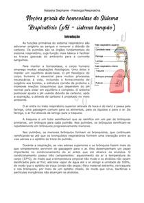 Introdução à fisiologia respiratória