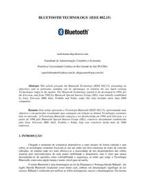 Trabalho Bluetooth