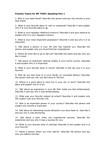 New Practice Topics for iBT TOEFL Speaking Part 1
