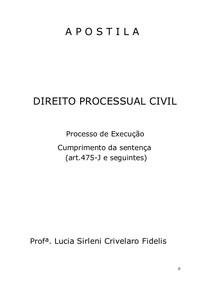APOSTILA-DireitoProcessualCivil