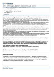 Atividade MAPA - Direito Publico e Privado