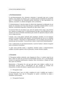 CONCEITOS: Pré-Dimensionamento, Fluxograma e Partido Arquitetônico