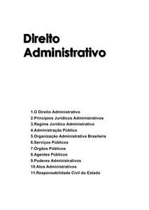 Auto Anônimo - Curso de Direito Administrativo
