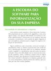 Escolha Do Software Para Informatização Da Sua Empresa