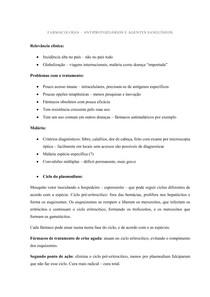 Farmacologia Antiprotozoarios