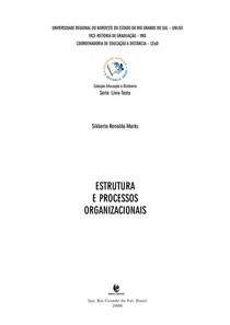 Apostila UNIJUÍ -Estrutura e processos organizacionais