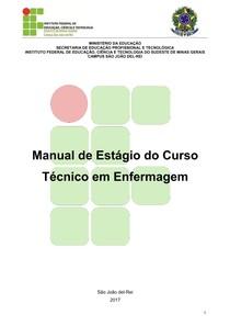 Manual de Estágio do Curso Técnico em Enfermagem