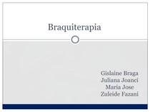 Radioterapia - Braquiterapia