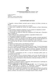 Questionário 1 - 2013.1