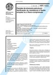 NBR 14322   1999   Paredes de  Alvenaria Estrutural