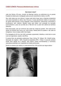 Caso Clínico: Paracoccidioidomicose crônica