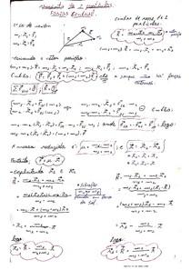 Matéria P2 Mecânica Clássica