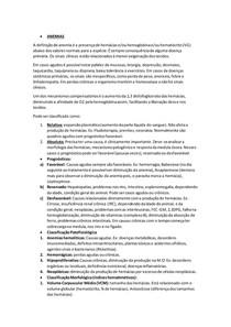 Anemia e policitemia.