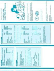 10 passos para a reabilitação nutricional Folder