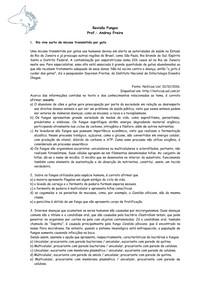 Fungos - Questões - Revisão de Biologia
