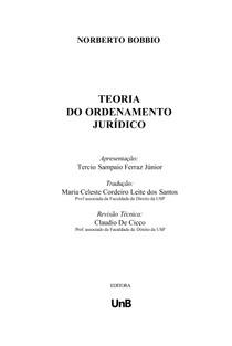 teoria do ordenamento juridico bobbio