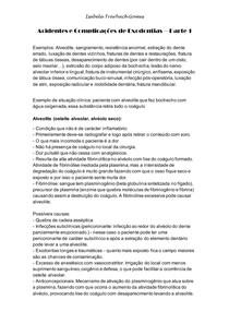 Acidentes e Complicações de Exodontias Parte 1