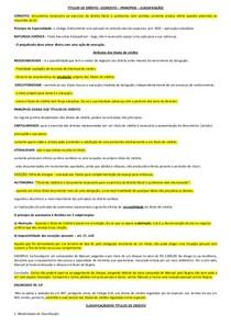 TÍTULOS DE CRÉDITO- EMPRESARIAL APLICADO II - RESUMO PARA AV3 E CASOS CONCRETOS