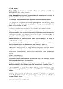 TIPOS DE FONTES