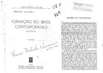 Caio Prado Junior - O sentido da colonizacao