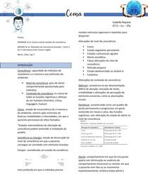 Coma - Fisiologia