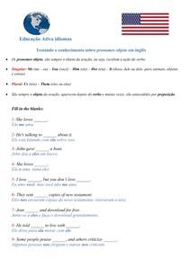 Testando o conhecimento sobre PRONOMES OBJETO em inglês - #exclusivopd