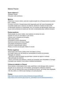 Educação médica: modelos Flexneriano e Preventivista