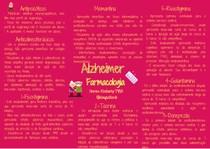 Alzheimer - Mapa mental