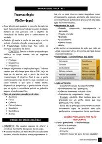 Traumatologia na Medicina Legal