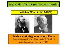 fundamentos da psi experimental