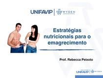Estratégia nutricionais no emagrecimento
