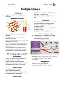 Fisiologia do sangue