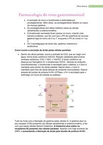 Farmacologia do trato gastrointestinal