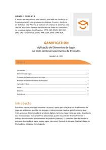 GAMIFICATION - Aplicação de Elementos de Jogos no Ciclo de Desenvolvimento de Produtos