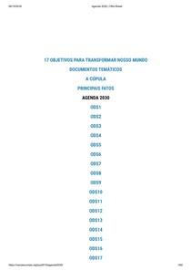 Agenda 2030   ONU Brasil