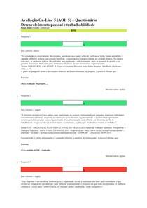 AOL5 desenvolvimento pessoal e trabalhabilidade