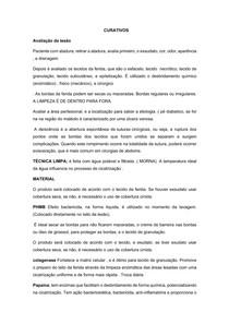 Técnica de CURATIVOS e COBERTURAS